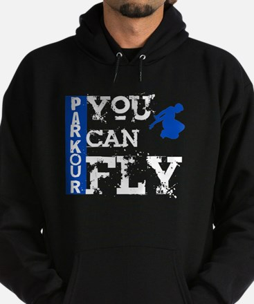 Parkour - You Can Fly Hoodie (dark)