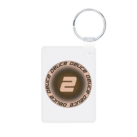 Deuce #1 Aluminum Photo Keychain