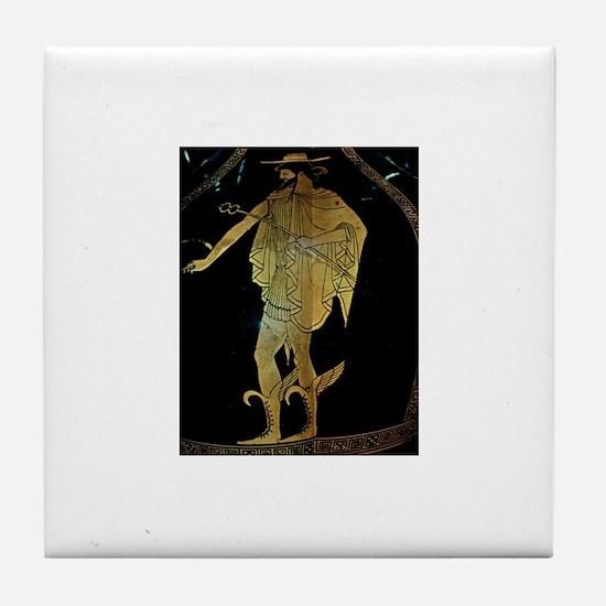 Hermes Tile Coaster