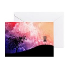 Basket On A Hill Greeting Card