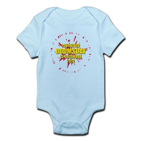 I survived doomsday 21 December 2012 Infant Bodysu