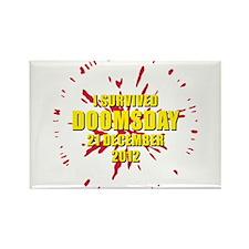 I survived doomsday 21 December 2012 Rectangle Mag