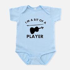 Cool Violin designs Infant Bodysuit