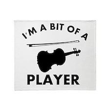 Cool Violin designs Throw Blanket