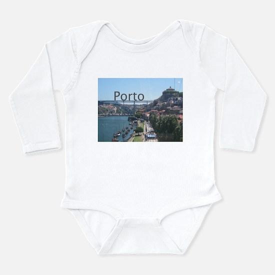 Porto Gaia Long Sleeve Infant Bodysuit