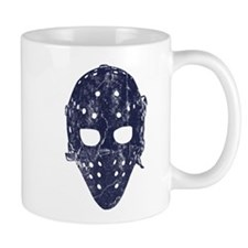 Vintage Hockey Goalie Mask (dark) Mug