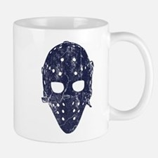 Vintage Hockey Goalie Mask (dark) Mug