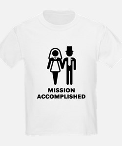 Mission Accomplished (Wedding / Marriage) T-Shirt