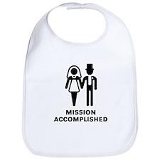 Mission Accomplished (Wedding / Marriage) Bib