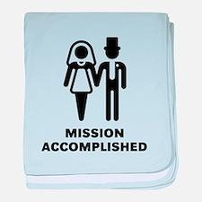 Mission Accomplished (Wedding / Marriage) baby bla