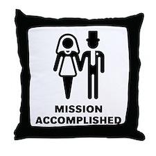 Mission Accomplished (Wedding / Marriage) Throw Pi