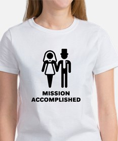 Mission Accomplished (Wedding / Marriage) Tee