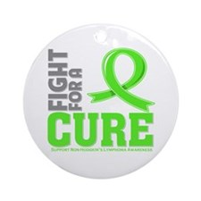Non-Hodgkins Lymphoma Fight Ornament (Round)