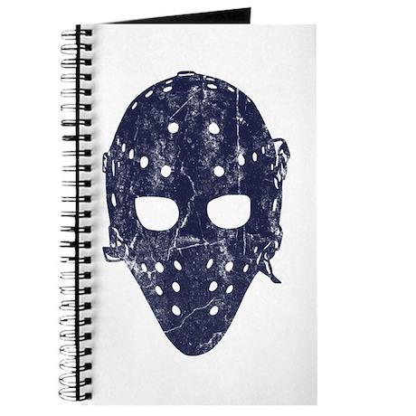 Vintage Hockey Goalie Mask (dark) Journal