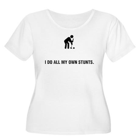 Croquet Women's Plus Size Scoop Neck T-Shirt