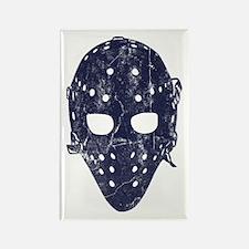 Vintage Hockey Goalie Mask (dark) Rectangle Magnet