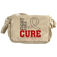 Mesothelioma Fight For A Cure Messenger Bag