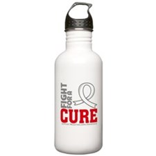Mesothelioma Fight For A Cure Water Bottle