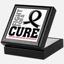 Melanoma Fight For A Cure Keepsake Box