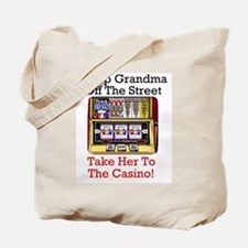 Cute Gambling Tote Bag