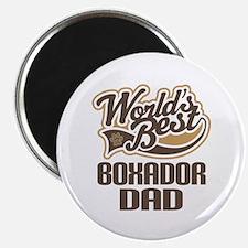 Boxador Dog Dad Magnet