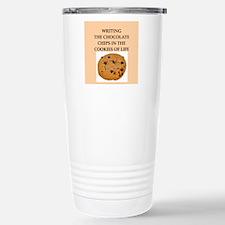 writing Travel Mug