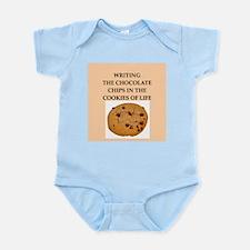 writing Infant Bodysuit