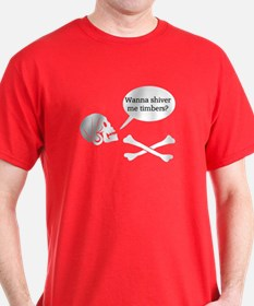 Shiver Me Timbers T-Shirt, dark color choices