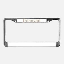 Donovan Pencils License Plate Frame