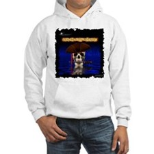 Comadore Skull Rising from Sea Hoodie