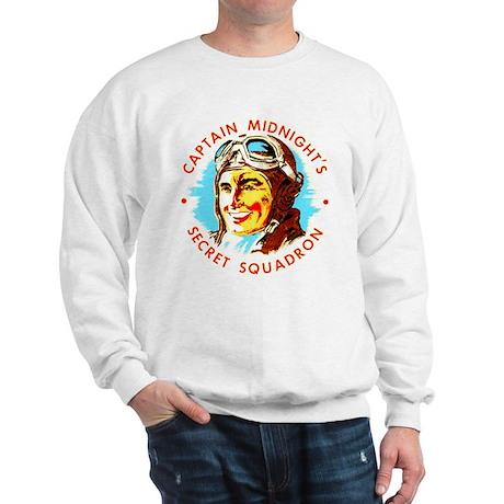 Captain Midnight's Secret Squ Sweatshirt