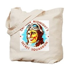 Captain Midnight's Secret Squ Tote Bag