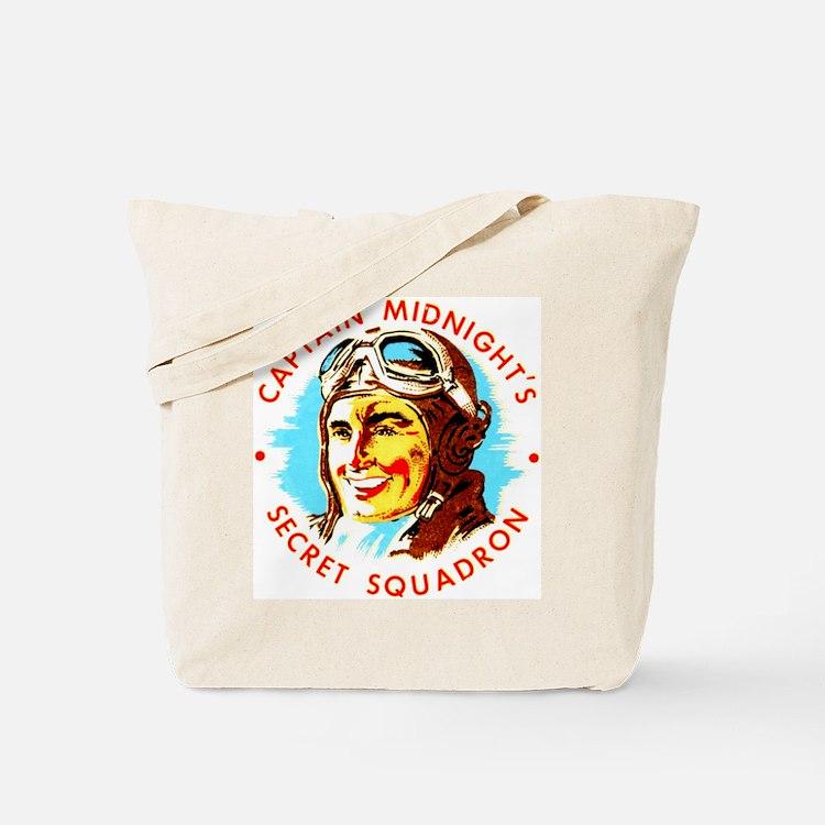 Captain Midnight's Secret Squ Tote Bag