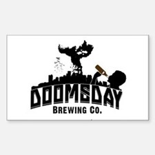Doomsday Brewing Co. Decal