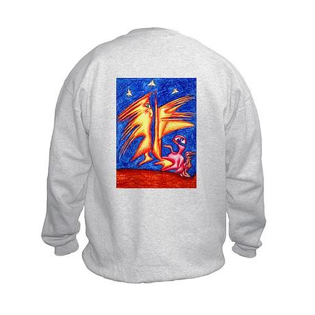 Angel walk Kids Sweatshirt