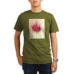 fire tree Organic Men's T-Shirt (dark)