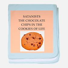 satanist baby blanket