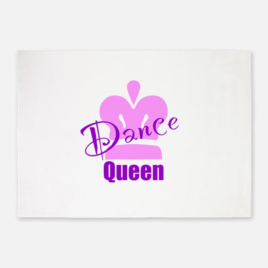 Dance Queen 5'x7'Area Rug