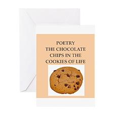 poetry Greeting Card