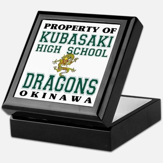 Property Of KHS Dragons Keepsake Box