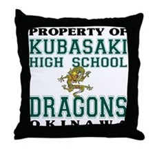Property Of KHS Dragons Throw Pillow