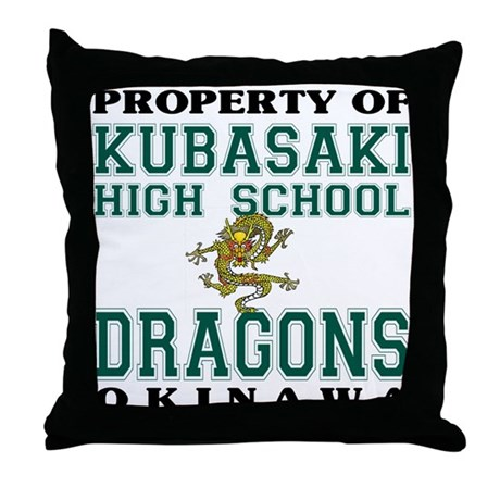Property Of KHS Dragons Throw Pillow