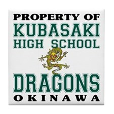 Property Of KHS Dragons Tile Coaster