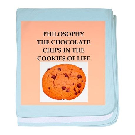 philosophy baby blanket