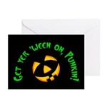 Get yer 'ween on... Greeting Cards (Pk of 10)