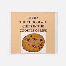 opera Throw Blanket