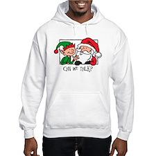 Santa, Can We Talk Hoodie