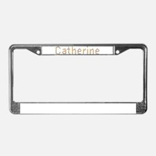 Catherine Pencils License Plate Frame