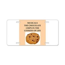 musicals Aluminum License Plate