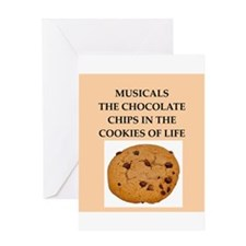 musicals Greeting Card